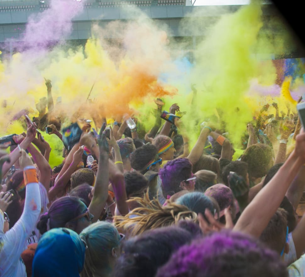 The Color Run in Dubai - Best Time