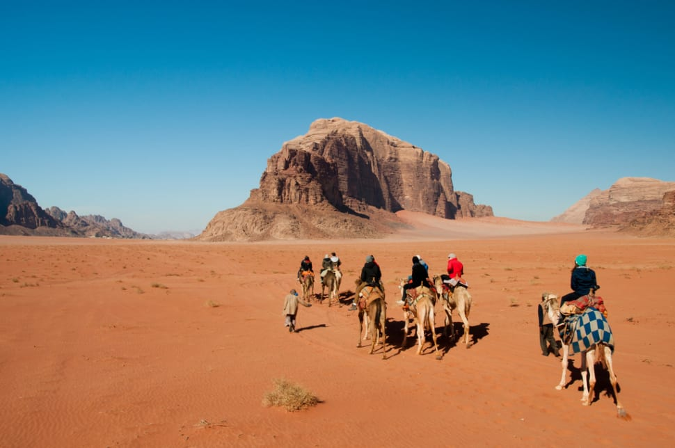 Best time for Camel Safari in Jordan