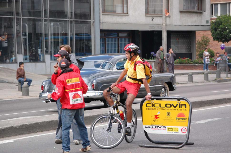Sunday Ciclovía in Bogota in Colombia - Best Season