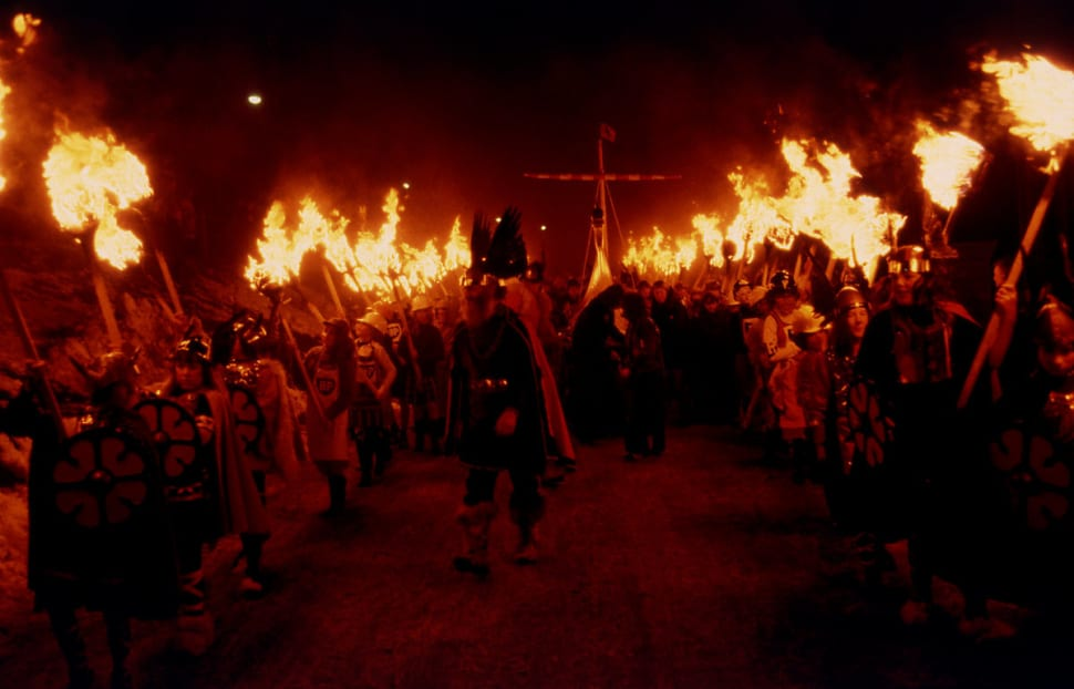 Up Helly Aa in Scotland - Best Season