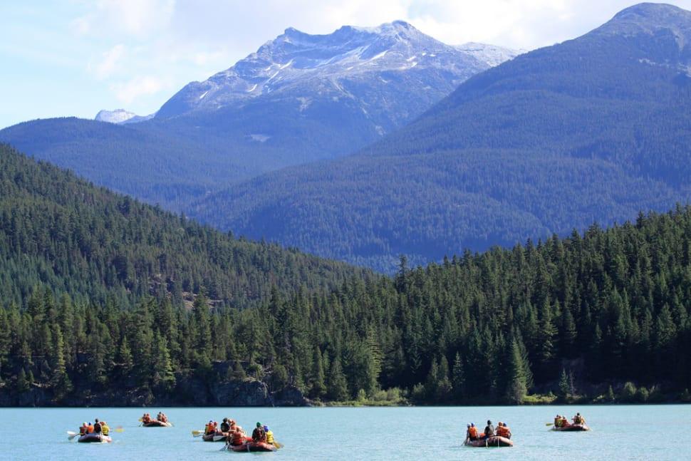 Green River Whitewater Rafting @ Whistler