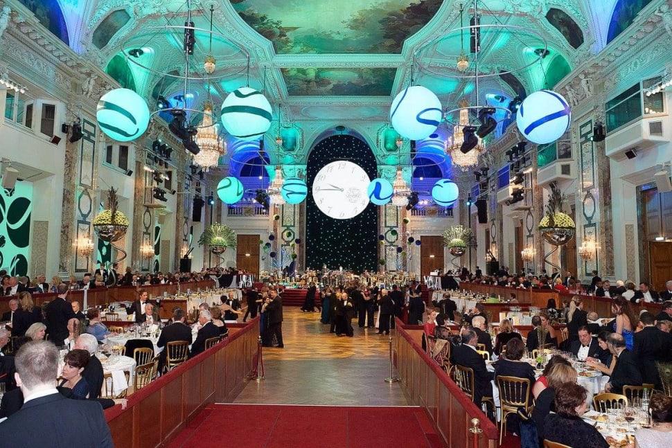 Dinner im Festsaal