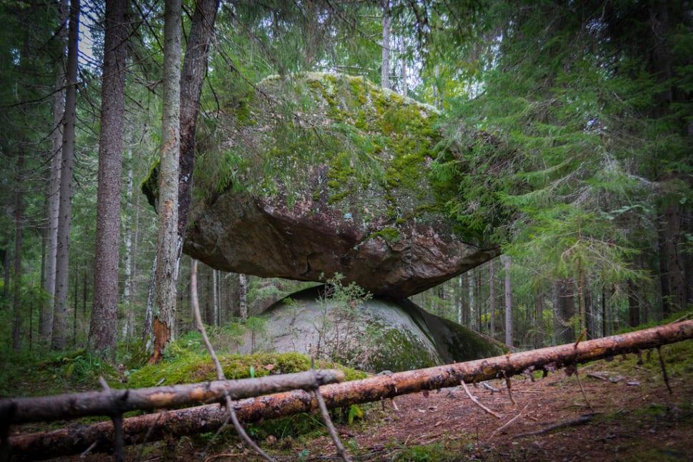 Kummakivi Balancing Rock in Finland - Best Time