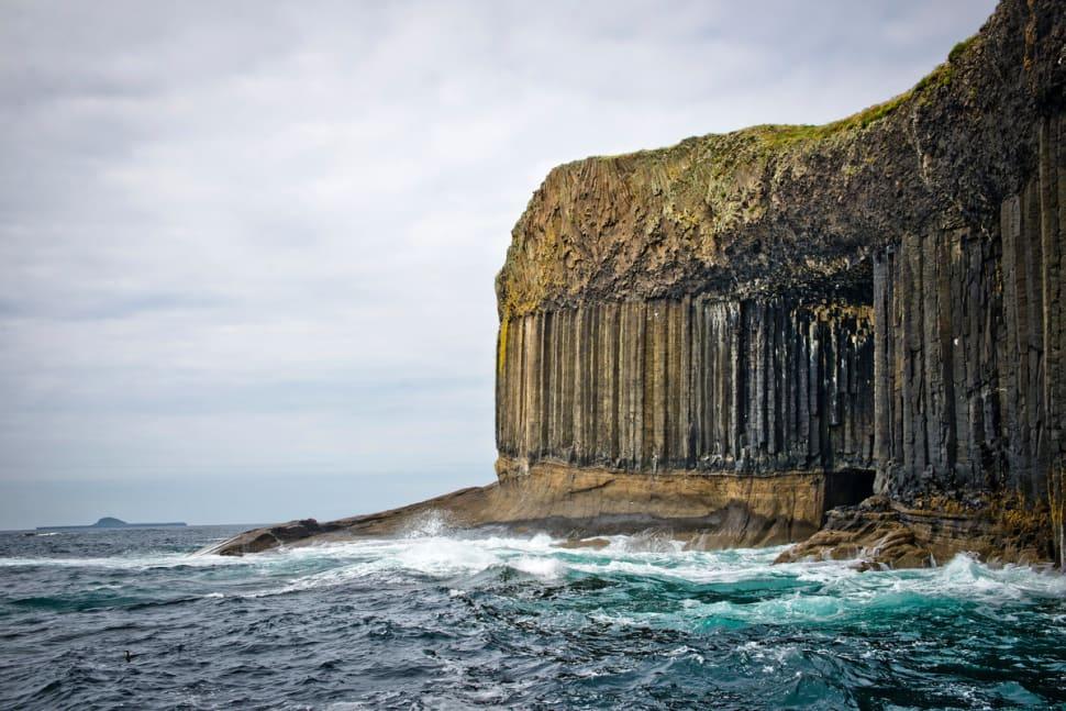 Fingals Cave on the Staffa Island