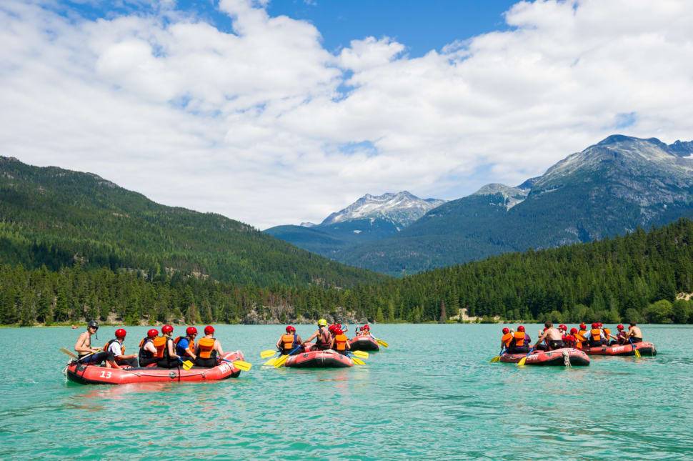 Rafting in Vancouver - Best Time