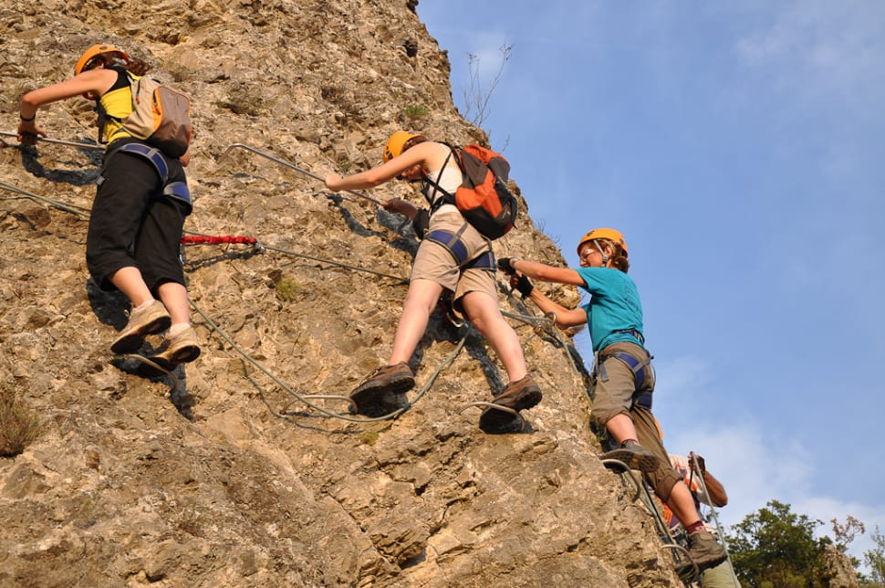 Best time for Alpine Via Ferrata in Provence & French Riviera