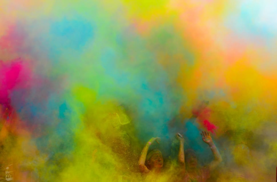 Best time to see The Color Run in Melbourne