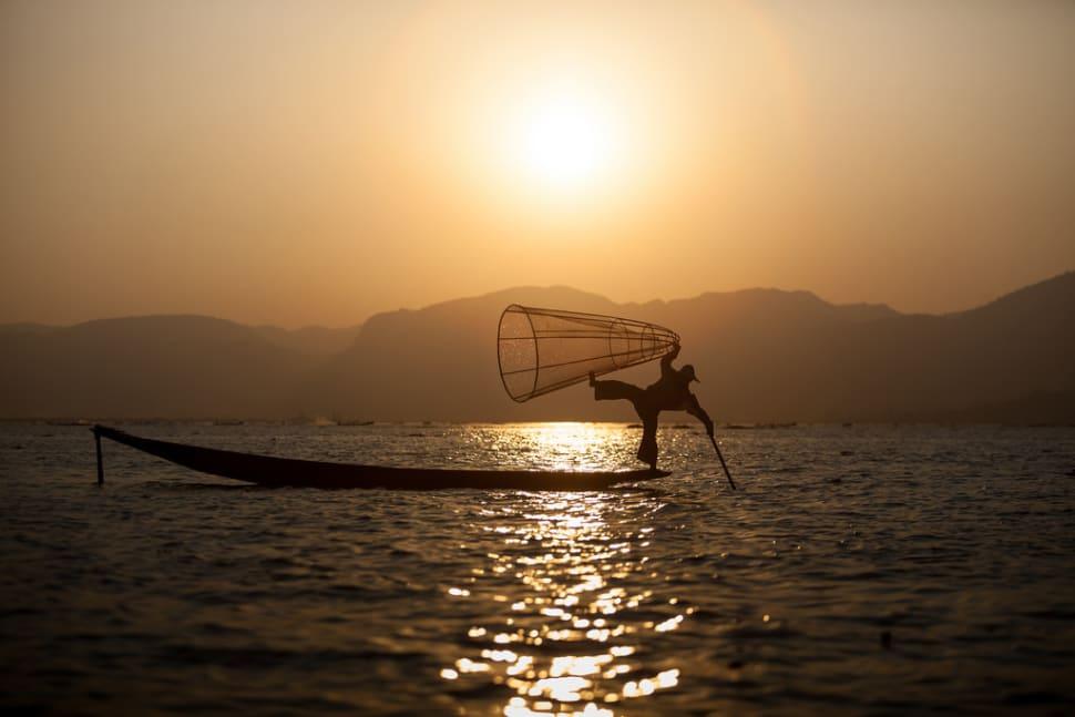 Fisherman on the Inle Lake