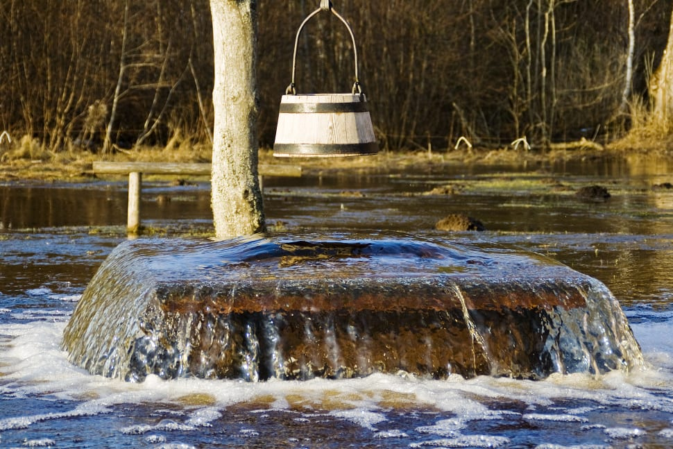 Tuhala Witch's Well Overflowing in Estonia - Best Time