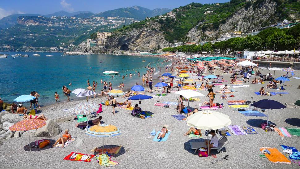 Best time for Beach Season on the Amalfi Coast in Amalfi Coast