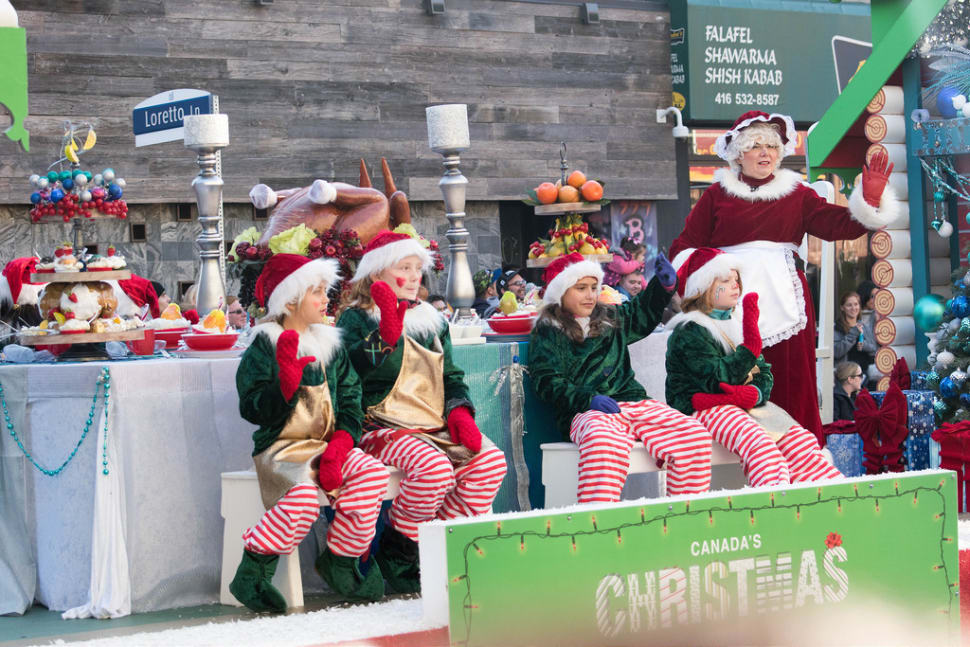 Best time for Santa Claus Parade