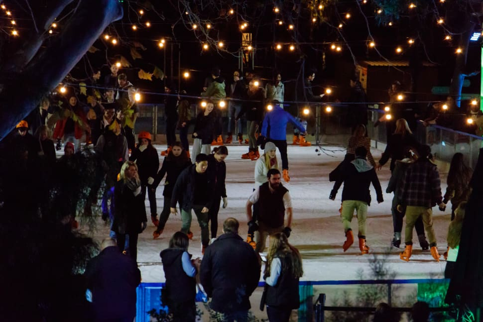River Rink at Fed Square in Melbourne - Best Time