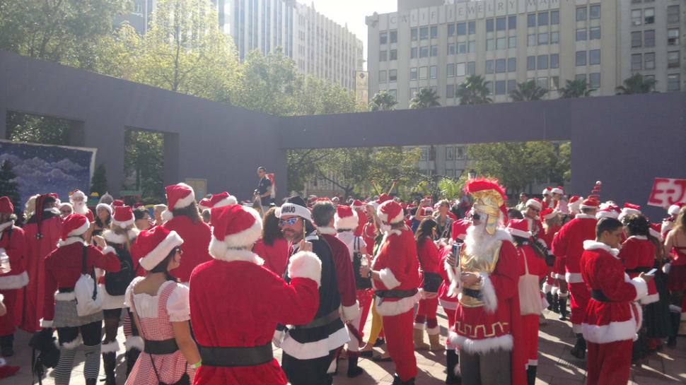 SantaCon  in Los Angeles - Best Time