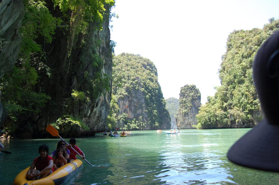 Kayaking in Phang Nga Bay in Phuket - Best Season