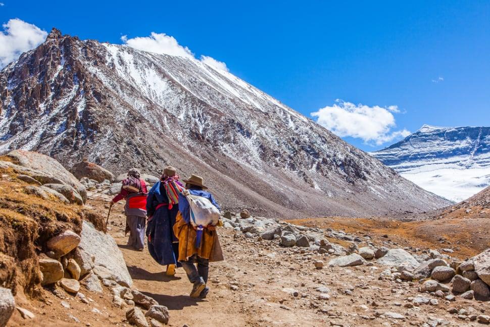 Trekking  in Tibet - Best Time