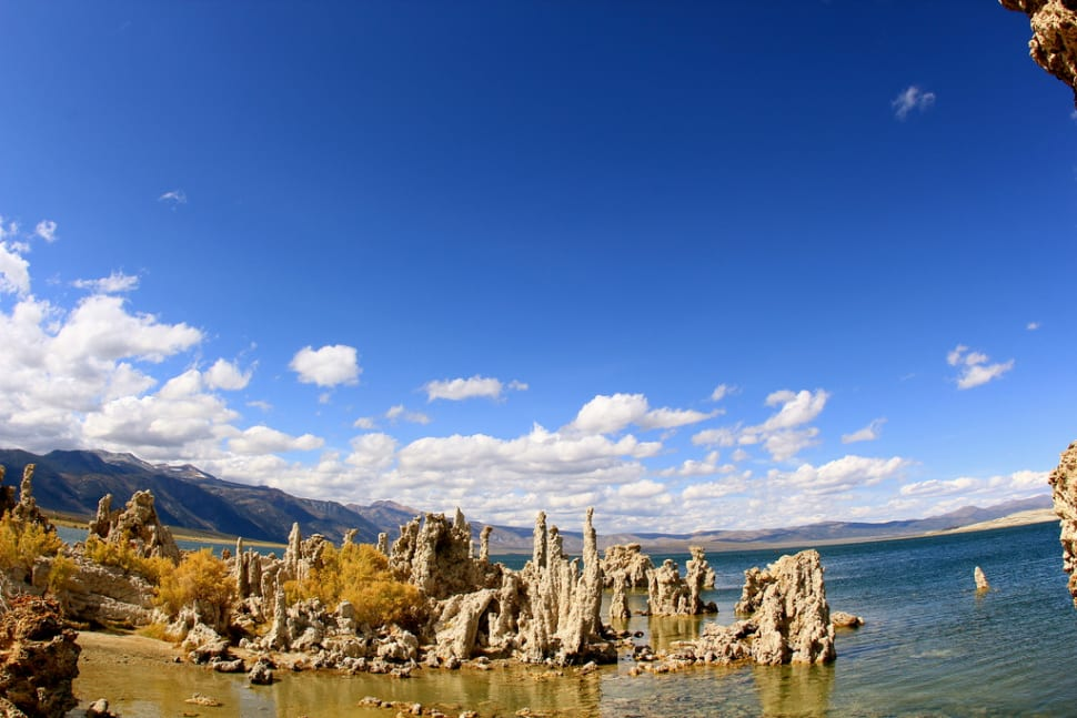 Best time for Tufa Towers of Mono Lake in California