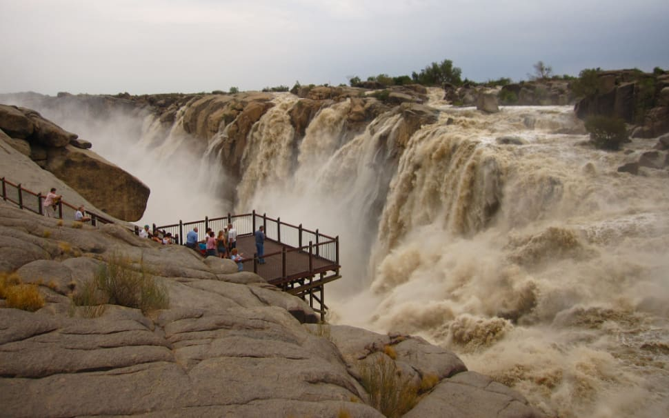 Augrabies Falls in February