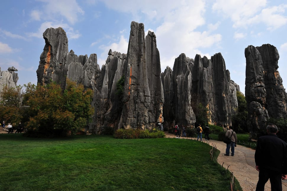 Best time for Shilin Stone Forest in China