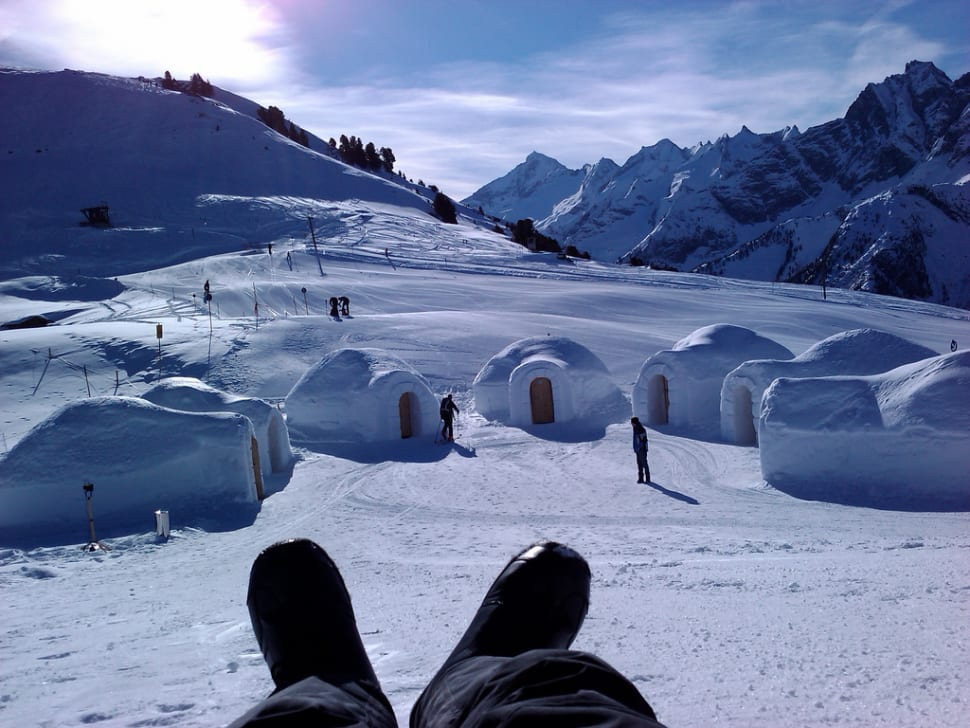Best time for Igloo Building in Austria