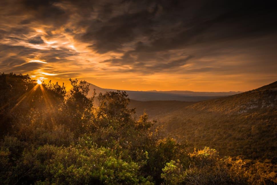 Sunset at Serra da Arrábida