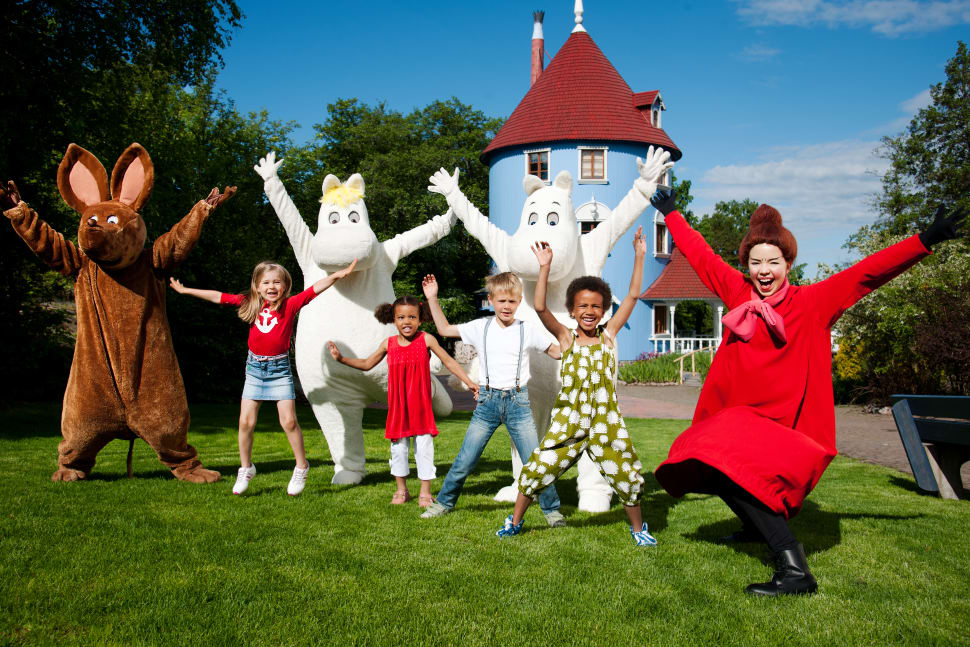 Moomin World and Moomin Place in Finland - Best Time