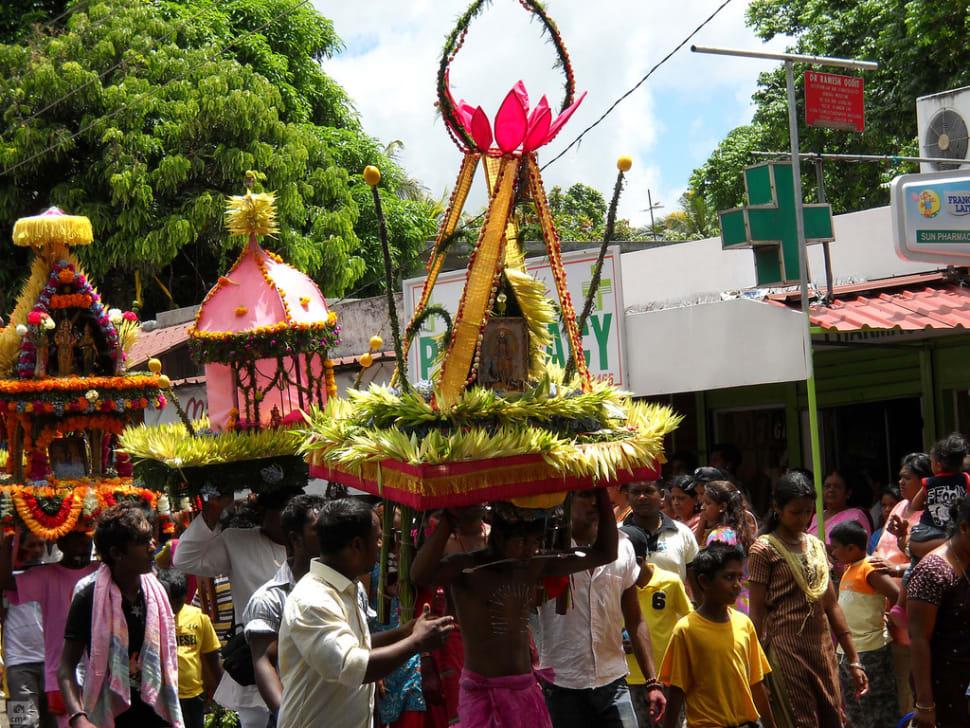 Thaipoosam Cavadee in Mauritius - Best Season