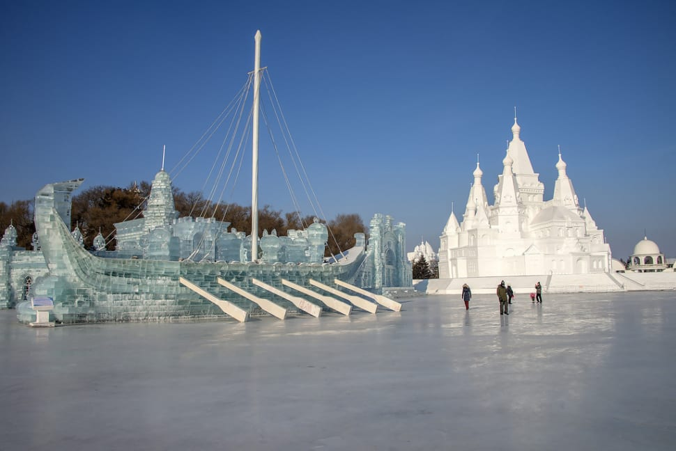 Best time to see Harbin International Ice and Snow Sculpture Festival in China