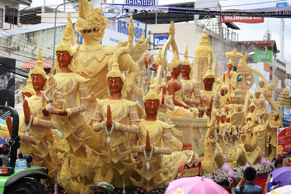 Candle Festival in Ubon Ratchathani in Thailand - Best Season