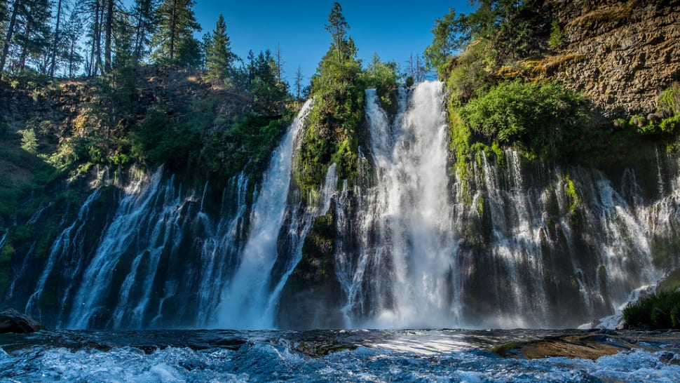 Best time to see Burney Falls in California