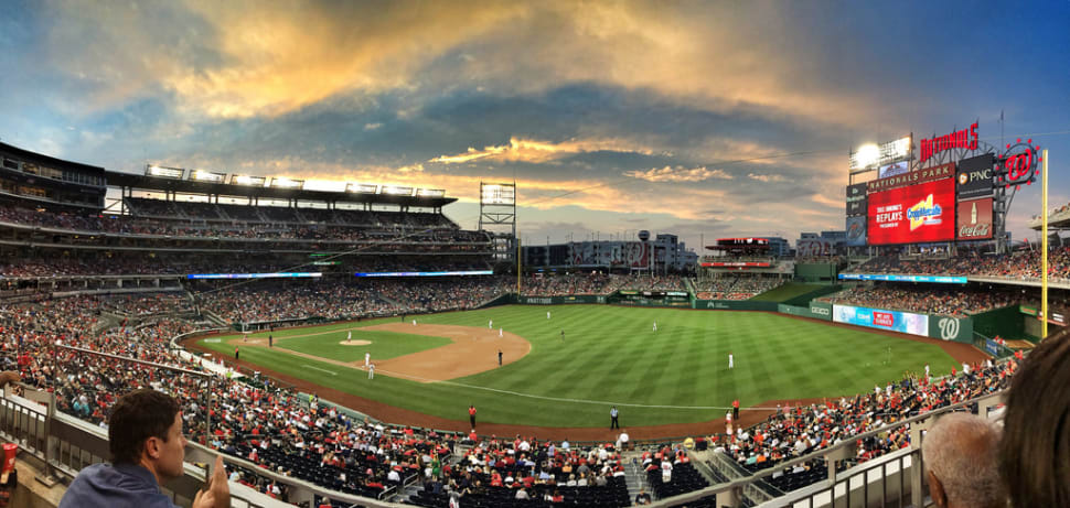 Best time for Washington Nationals in Washington, D.C.
