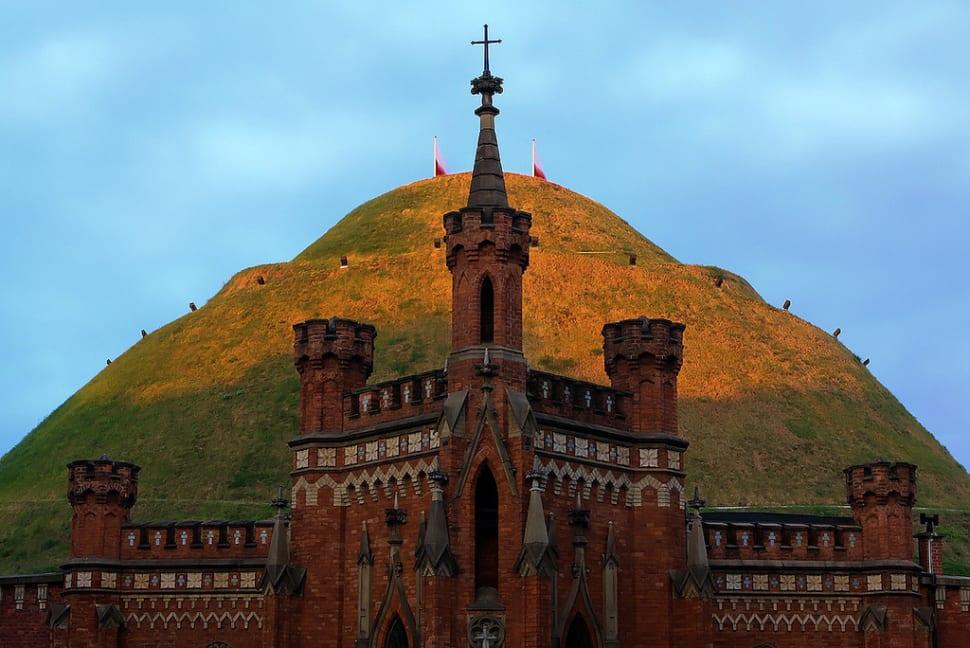 Kosciuszko Mound is the most famous mound in Poland