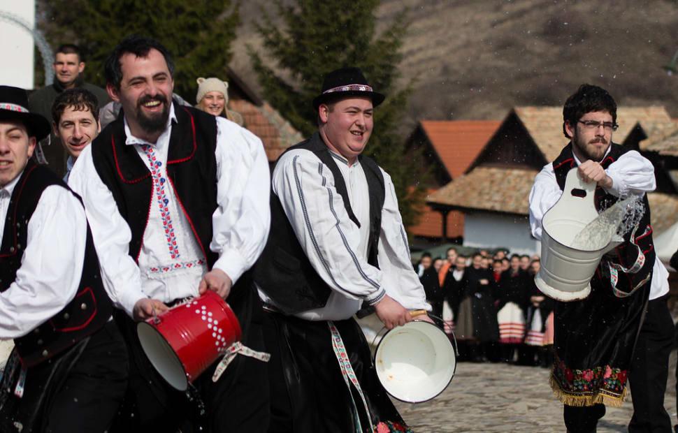 Húsvéti Locsolkodás or Wet Monday in Hungary - Best Season