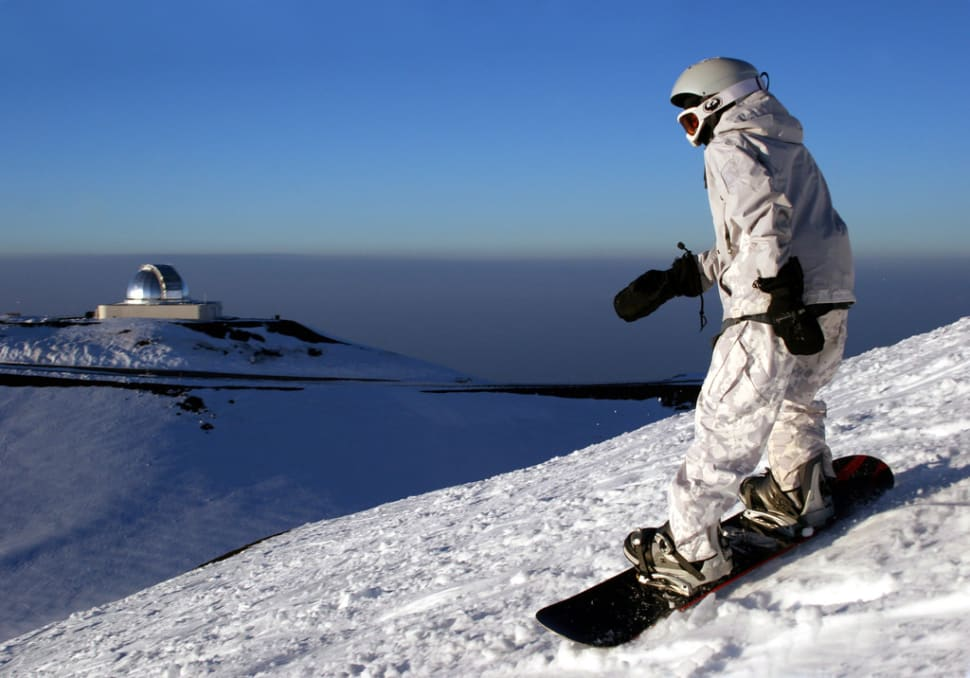 Skiing and Snowboarding Mauna Kea in Hawaii - Best Time