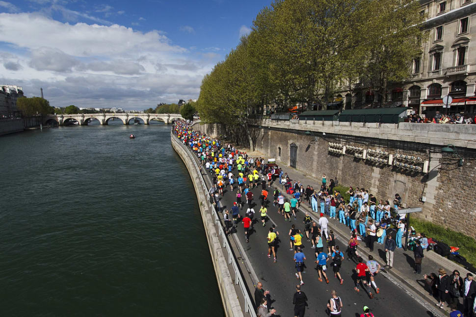 Best time for Marathon de Paris in Paris