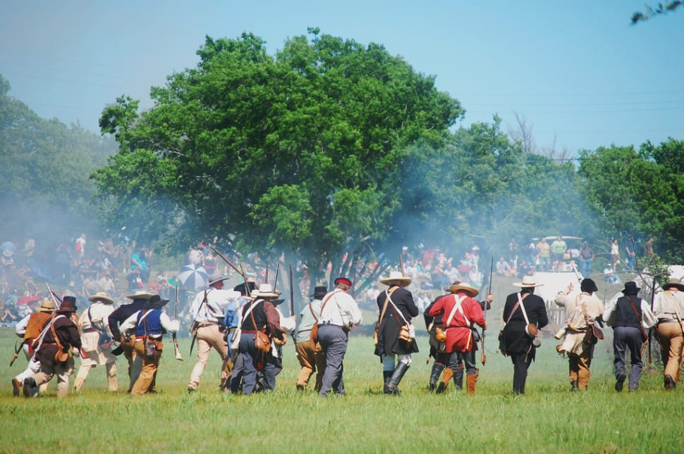 Texas Independence Re-enactment