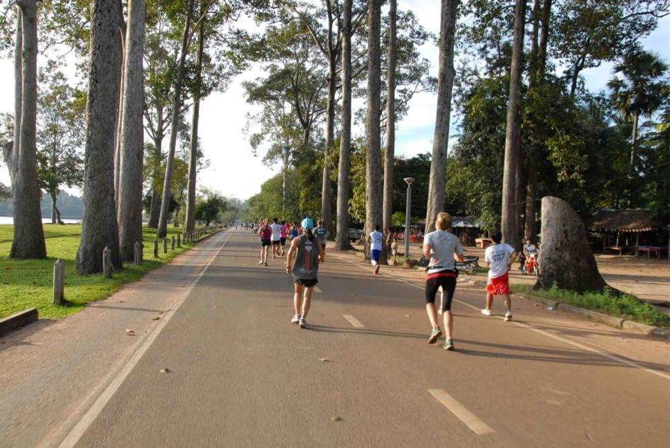 Angkor Wat International Half Marathon in Cambodia - Best Season