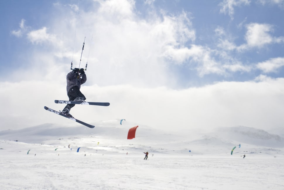 Best time for Snow Kiting in Norway