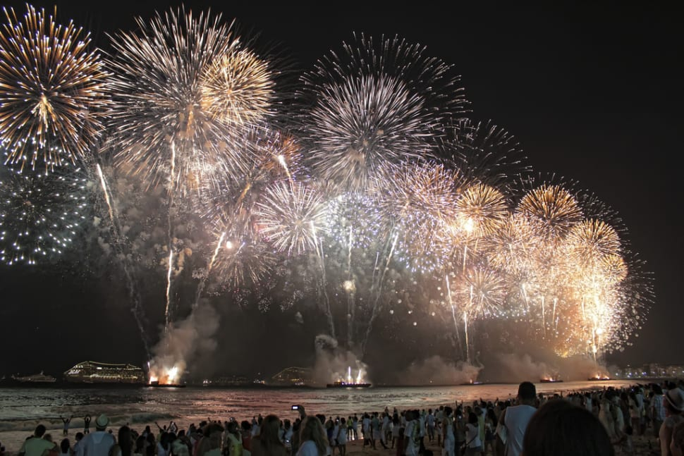 Best time to see New Year's Eve in Rio de Janeiro