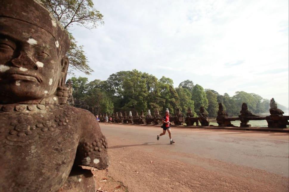 Best time for Angkor Wat International Half Marathon in Cambodia