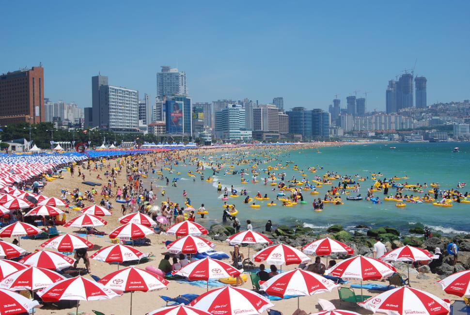 Beach Season in South Korea - Best Time