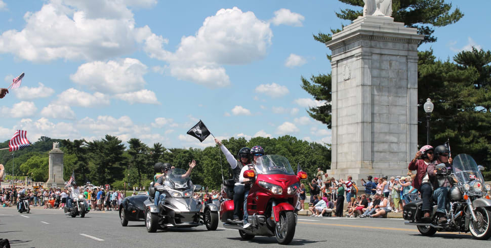 Best time for Rolling Thunder 'Ride for Freedom' in Washington, D.C.