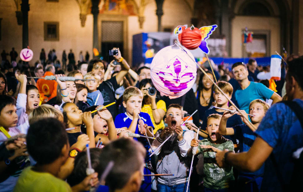 Best time for Festival of the Paper Lanterns: Rificolona in Florence