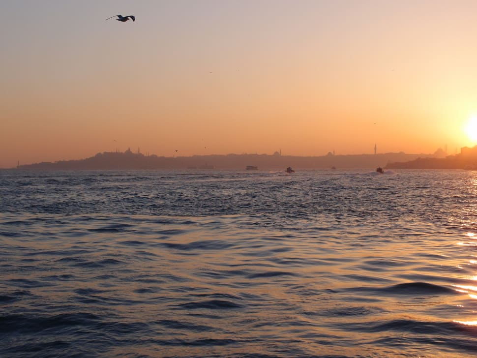 Best time for Sunset Bosphorus Cruise in Istanbul