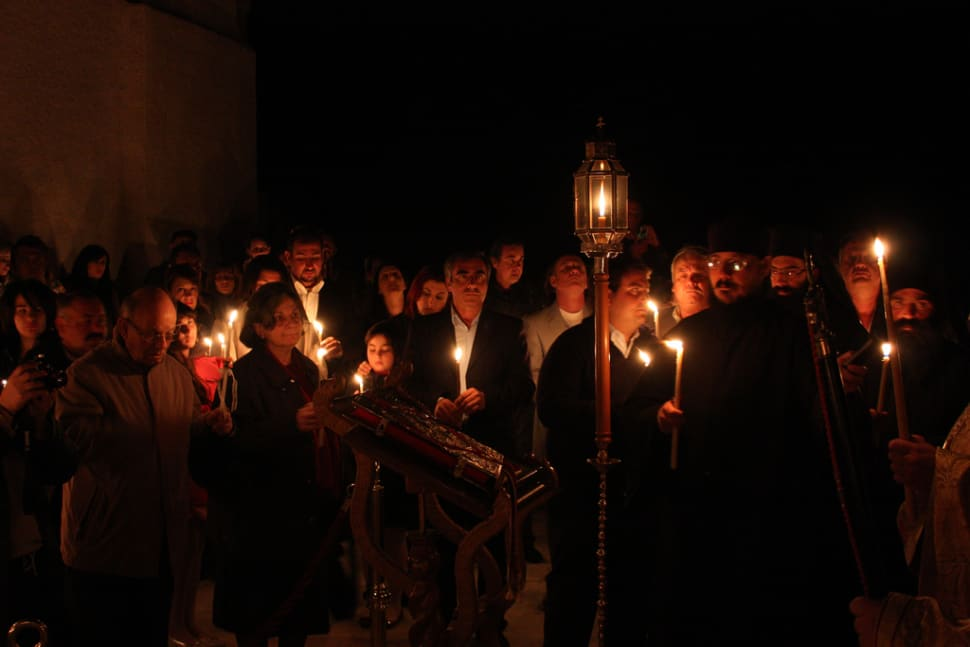 Best time to see Greek Orthodox Easter and Holy Week in Santorini
