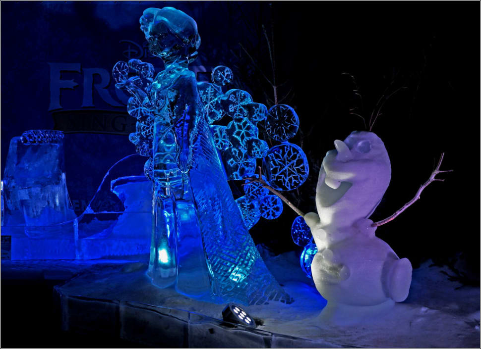 Ice Sculptures in Zwolle in The Netherlands - Best Season