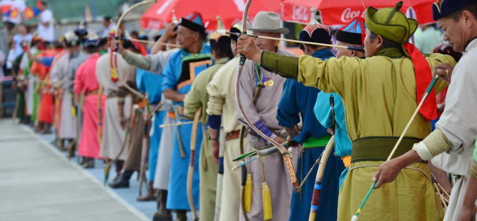 Naadam Archery Competition