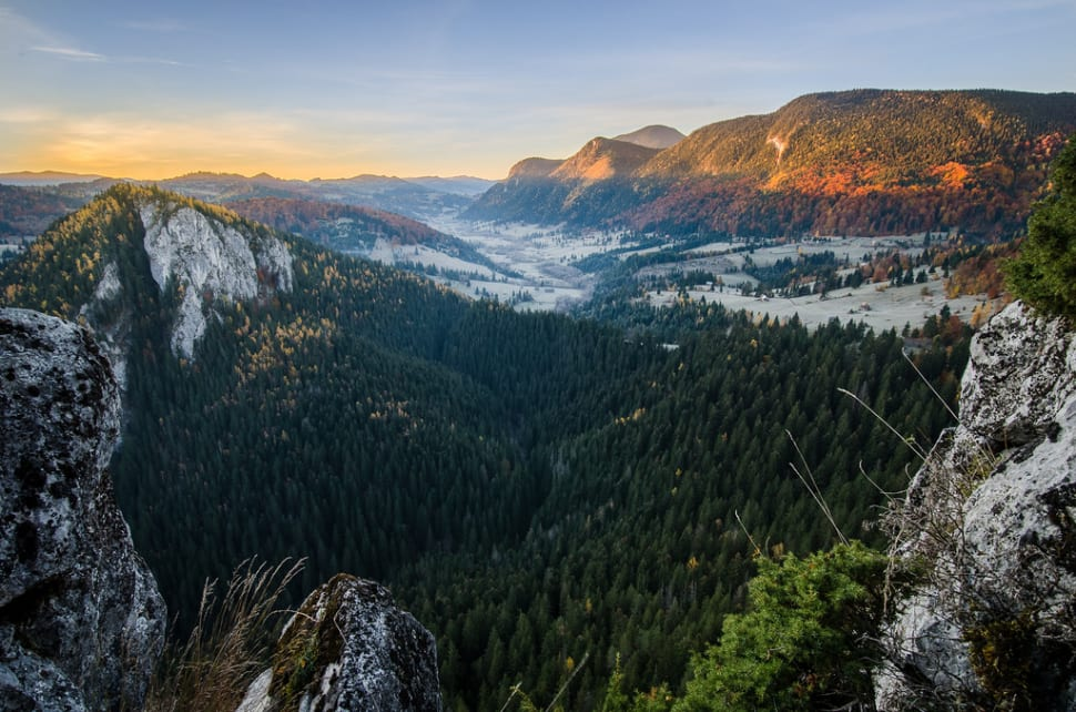 Raul Bicajel valley, Transylvania