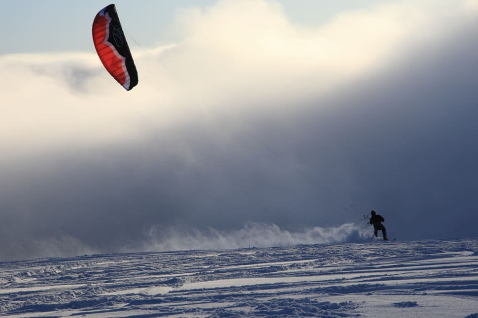 Best time to see Snowkiting in Bavaria