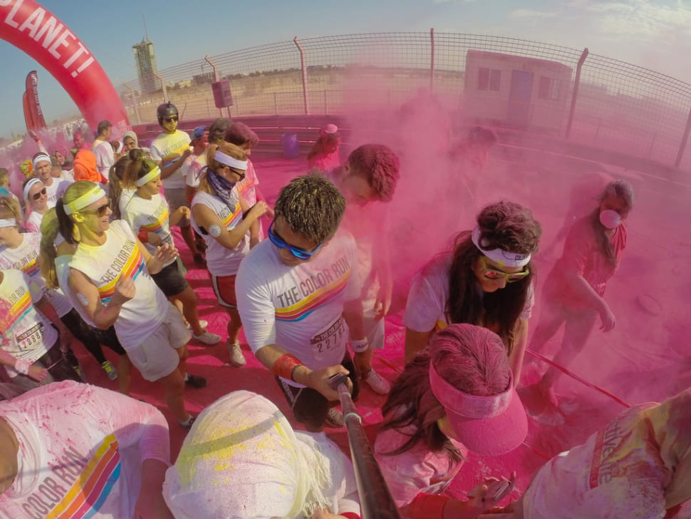 Things to do in Dubai : The Color Run
