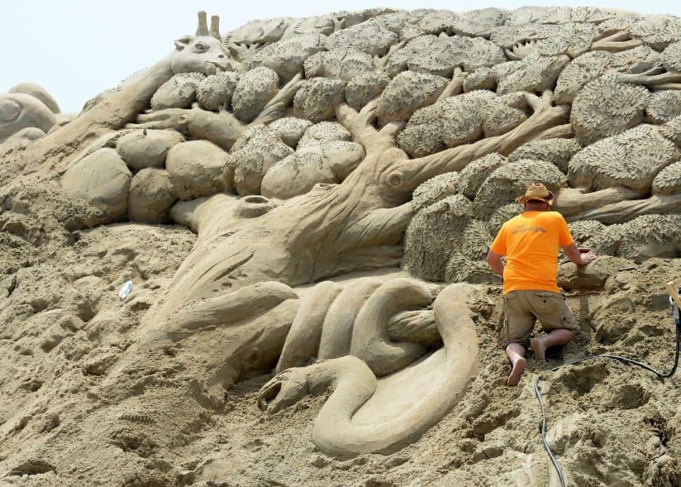 Best time to see Haeundae Sand Festival in South Korea